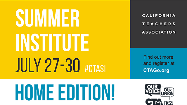 A description of the CTA Summer Institute for 2020.